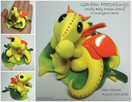 Garden Hatchlings - Stuffy Baby by lizzarddesigns