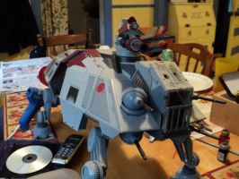 Custom AT-TE after by toyphototaker