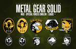 MGS - SPECIAL FORCES EMBLEM / LOGOS by ELITE4foxes