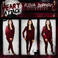 +Nina Dobrev|Pack Png by Heart-Attack-Png