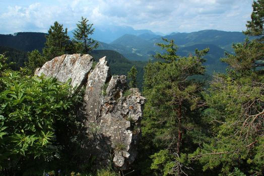 Schneeberg Viewed from Hohewand by AgiVega