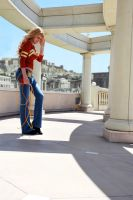 Wonder Girl in Themyscira by dangerousladies