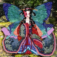 The Butterfly Empress - colour by Sakura-ShinRa