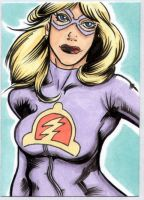 Liberty Belle sketchcard by The-Standard