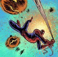 Spiderman doodle by davechisholm