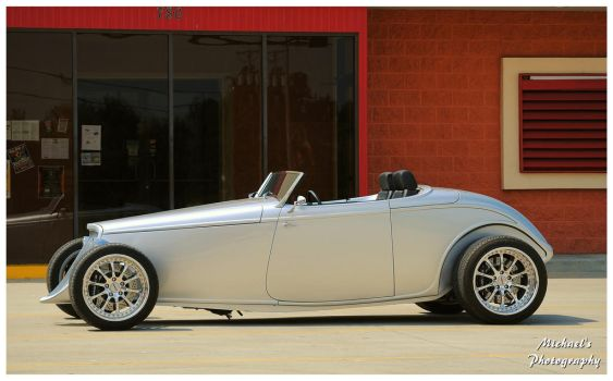 A Sharp Silver Roadster by TheMan268