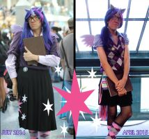 Evolution of Twilight (COSPLAY) by AniRichie-Art