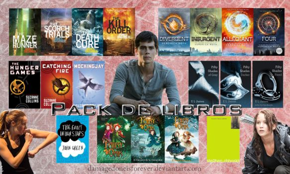 Pack de Libros by DamageDoneIsForever