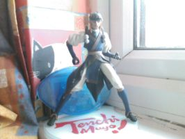 Old Tenchi figure by supernanny191