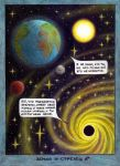 The Space Dialogue (Earth and Sagittarius A*) by lizard-mantidae