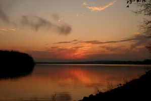 Sunset at Stoney Creek by nwalter