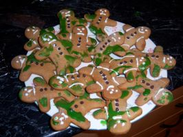 Gingerbread Leper Colony by musical-box