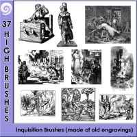 Inquisition Brushes by Trash63