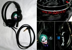 Joker Headphones by DJ-JFunk