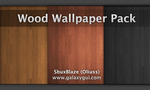 Wood Wallpaper Pack by Oliuss