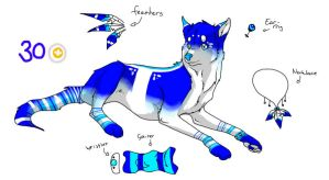 Wolf Adoptable CLOSED by ShootingStar2552