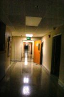 Abandoned Hospital - Hallway 2 by RavenA938
