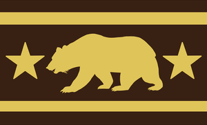 New California Flag Proposal by SouthParkTaoist