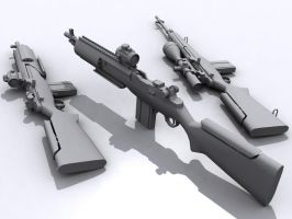 M14 render 2 by senor-freebie