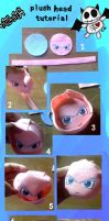 Plush head tutorial by nitanita