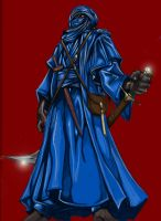 The Tuareg - colored by Djele
