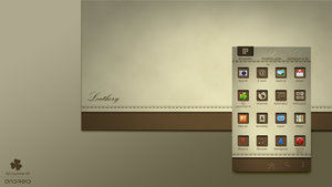 Leathery GO Launcher EX Theme by weirdoo