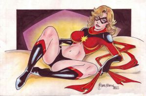 MS MARVEL by RODEL MARTIN by rodelsm21