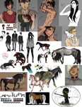 Art Dump - 2015 by Merrimus