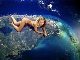 Giantess Satilite Picture by Accasbel