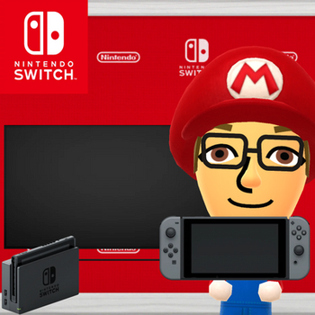 Me With The Nintendo Switch by JaxTendo