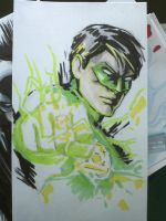 Green Lantern by CrazyBluePsychopath