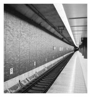 A subway station by freyiathelove