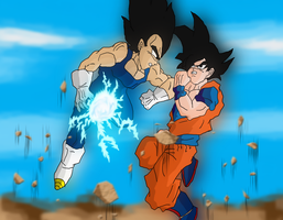 The Ultimate: Goku vs Vegeta by DCGIL