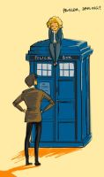 The Doctor and River Song by ptelly
