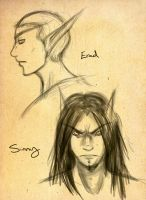 Erad and Sinithil sketches by Sleepwalks