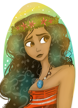 Moana (fanart) by KillingKate1