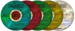 FF EotC DVD Labels by CalicoStonewolf