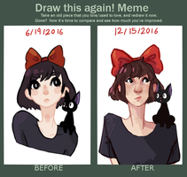 Draw it again - Kiki by wigglebees