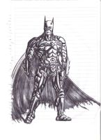 My first 17 yrs drawing BATMAN by Gallantnightmare