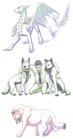 free sketches batch I by Arukardis