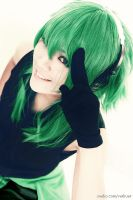 VOCALOID 2  gumi cosplay by rubensbuer