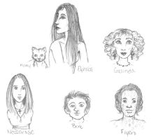 Doodle 5: Wicked Characters by LightningRodOfHate