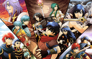 All the Fire Emblem Protagonists by Ashikai