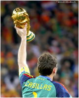 Casillas 2010 World Cup final by DaShiR