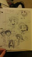 My Favourite YouTubers by ThePhantomsMUSE