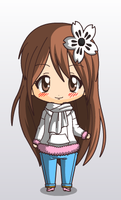 chibi  Marzia by Brittay-the-bookworm