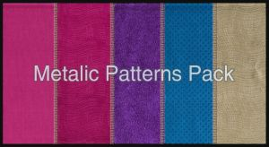 Colourful Metalic Pattern Pack by IHaveSeenTheRain