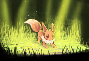 eevee encountered  by luminaura