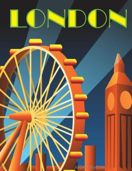 Art Deco, maybe? London theme by ArjunM0102