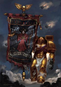 Blood Angels 3rd company by Nord-Sol